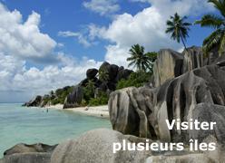 Visiter plusieurs îles